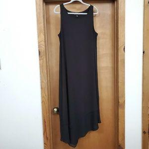Lane Bryant Asymmetrical Hem Little Black Dress